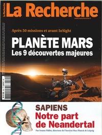 LA RECHERCHE N 535 PLANETE MARS  MAI 2018