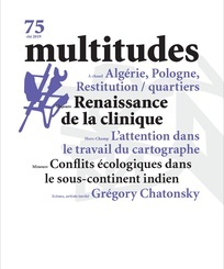 MULTITUDES N 75  RENAISSANCE DE LA CLINIQUE - ETE 2019