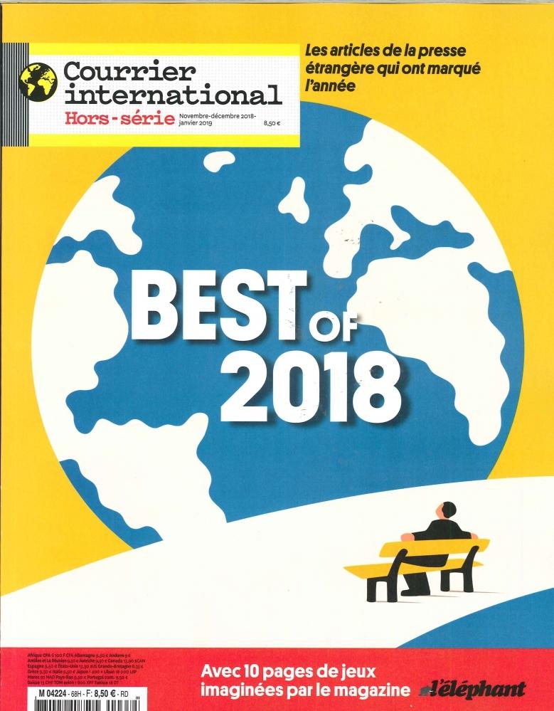 COURRIER INTERNATIONAL HS N 68 BEST OF 2018 -NOV.DEC.2018/JANVIER 2019
