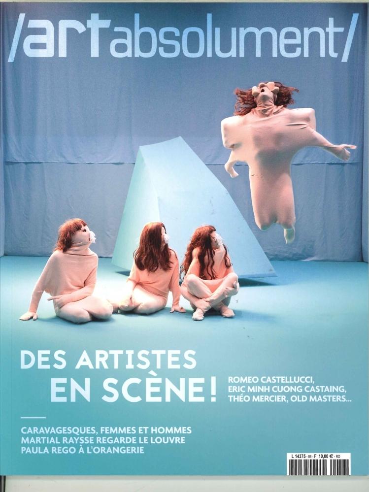ART ABSOLUMENT N 86 DES ARTISTES EN SCENE  - NOVEMBRE/DECEMBRE 2018