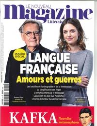 LE NOUVEAU MAGAZINE LITTERAIRE N 14 LANGUE FRANCAISE - FEVRIER 2019