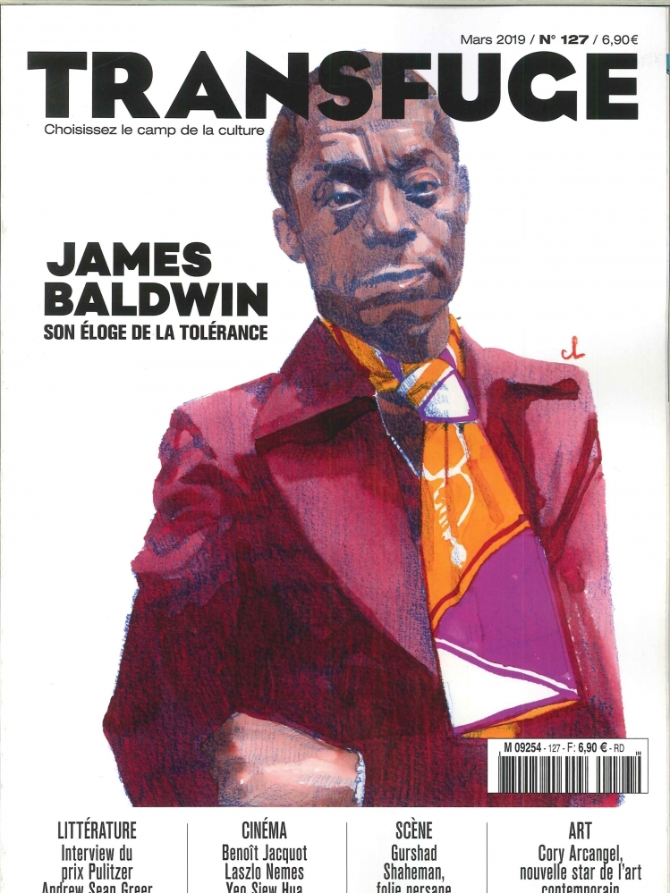 TRANSFUGE N  127 - JAMES BALDWIN - MARS 2019