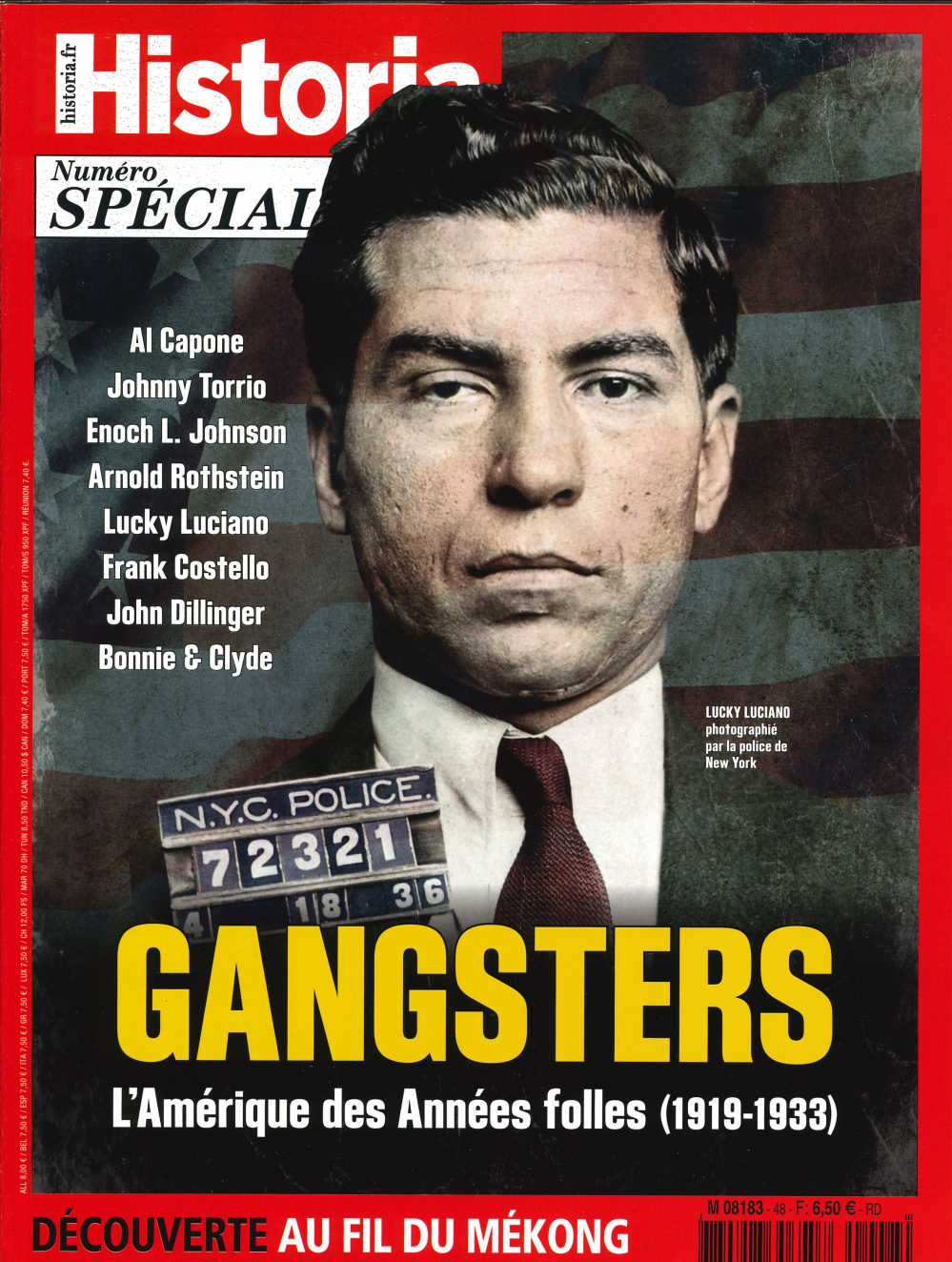 HISTORIA SPECIAL HS N 48  GANGSTERS  - JUILLET/AOUT 2019