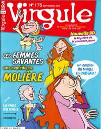 VIRGULE N 176 LES FEMMES SAVANTES - SEPTEMBRE 2019