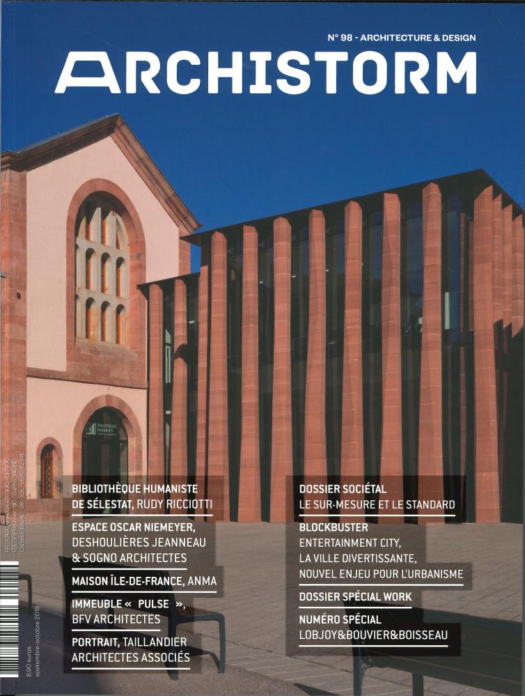 ARCHISTORM N 98 - SEPTEMBRE/OCTOBRE 2019