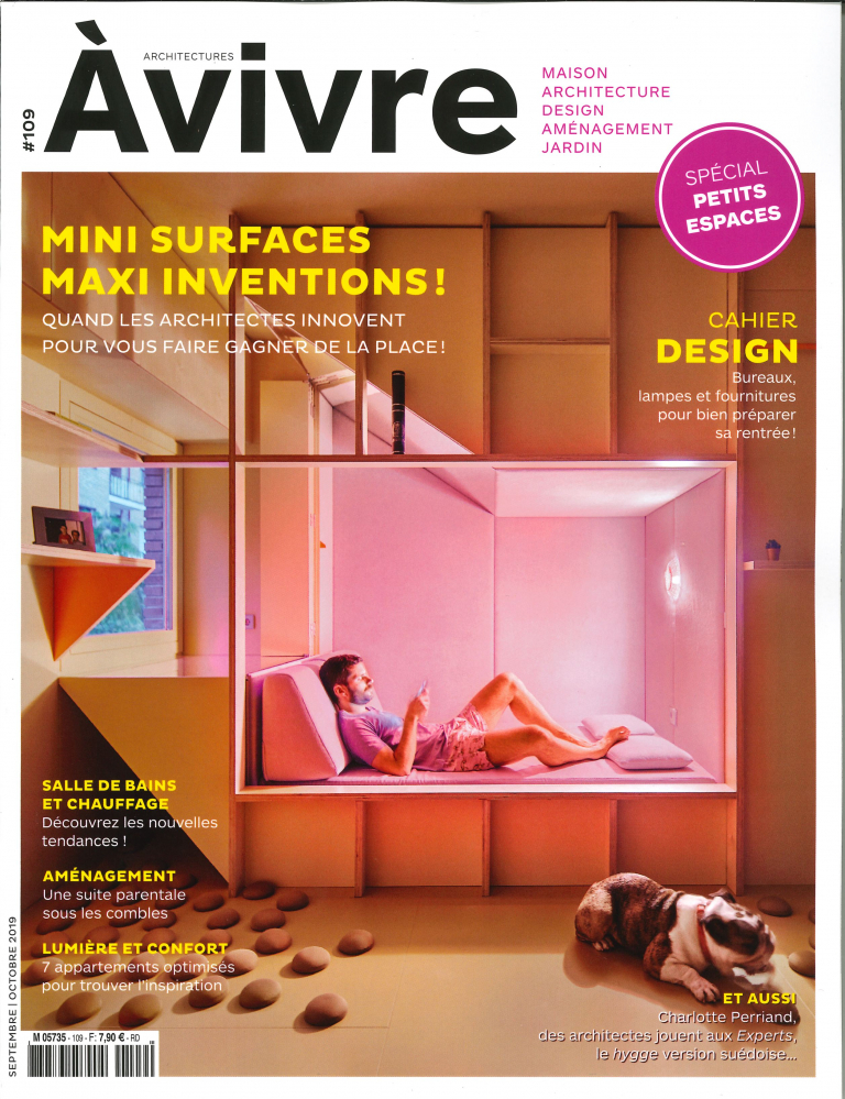 ARCHITECTURES A VIVRE N 109 MINI SURFACE MAXI INVENTIONS - SEPTEMBRE/OCTOBRE 2019