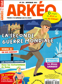 ARKEO JUNIOR N 278 LA SECONDE GUERRE MONDIALE - NOVEMBRE 2019