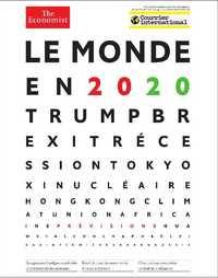 COURRIER INTERNATIONAL HS N 75 LE MONDE EN 2020 - JANVIER 2020