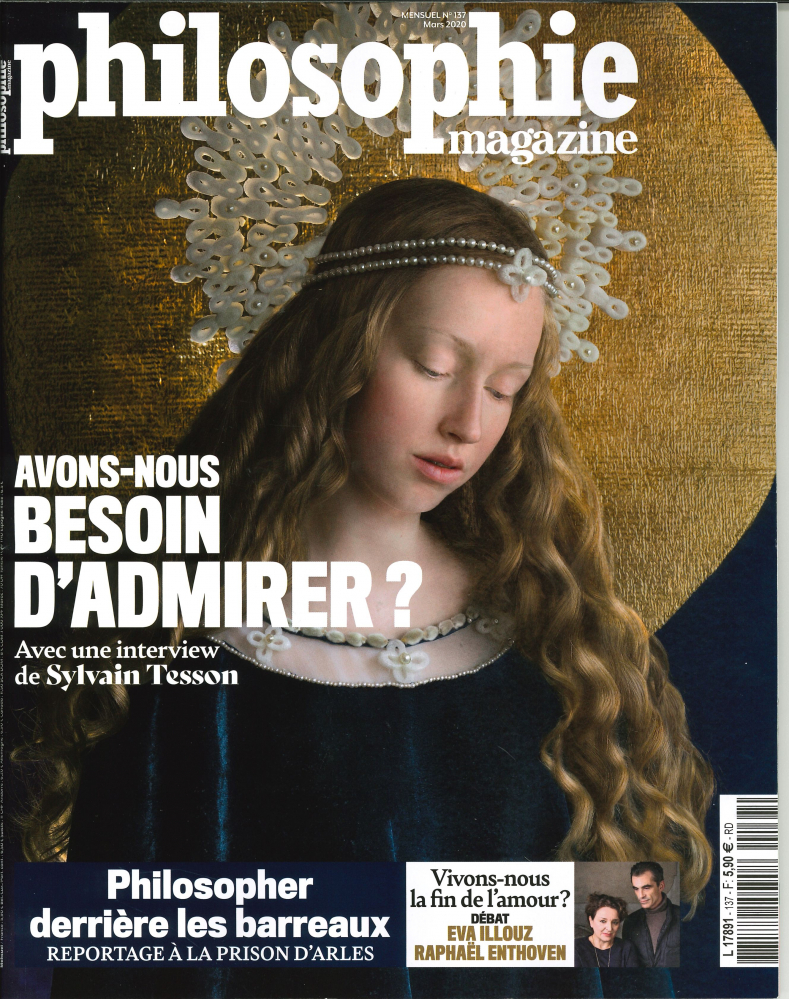 PHILOSOPHIE MAGAZINE N 137 AVONS-NOUS BESOIN D'ADMIRER ?