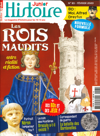 HISTOIRE JUNIOR N 93 LES ROIS MAUDITS - FEVRIER 2020