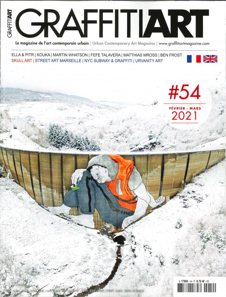 GRAFFITIART N 54 - JANVIER/FEVRIER 2021