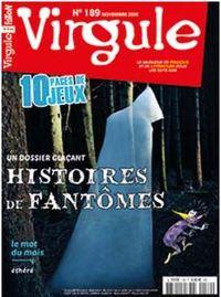 VIRGULE N 189 - LES FANTOMES DE L'ANTIQUITE A NOS JOURS - NOVEMBRE 2020
