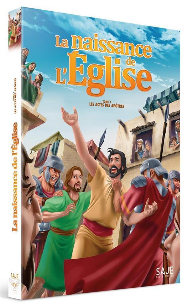 LES ACTES DES APOTRES - TOME 1 : LA NAISSANCE DE L EGLISE - DVD