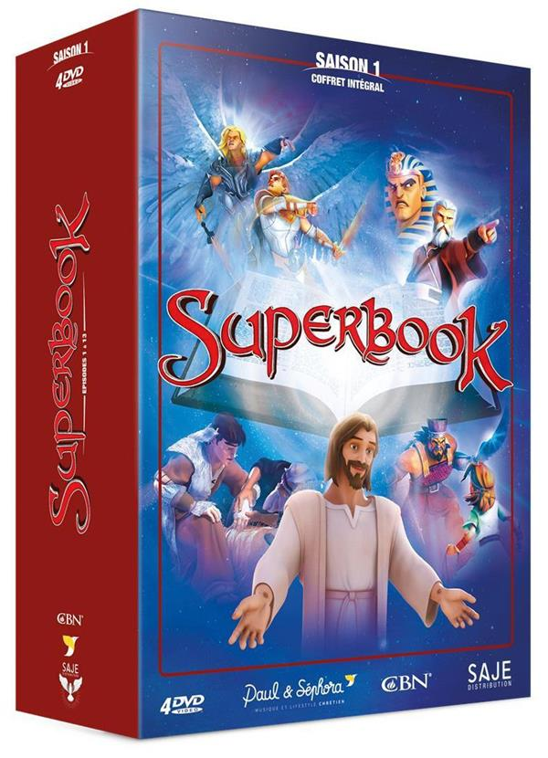 SUPERBOOK COFFRET INTEGRAL SAISON 1 - 4 DVD