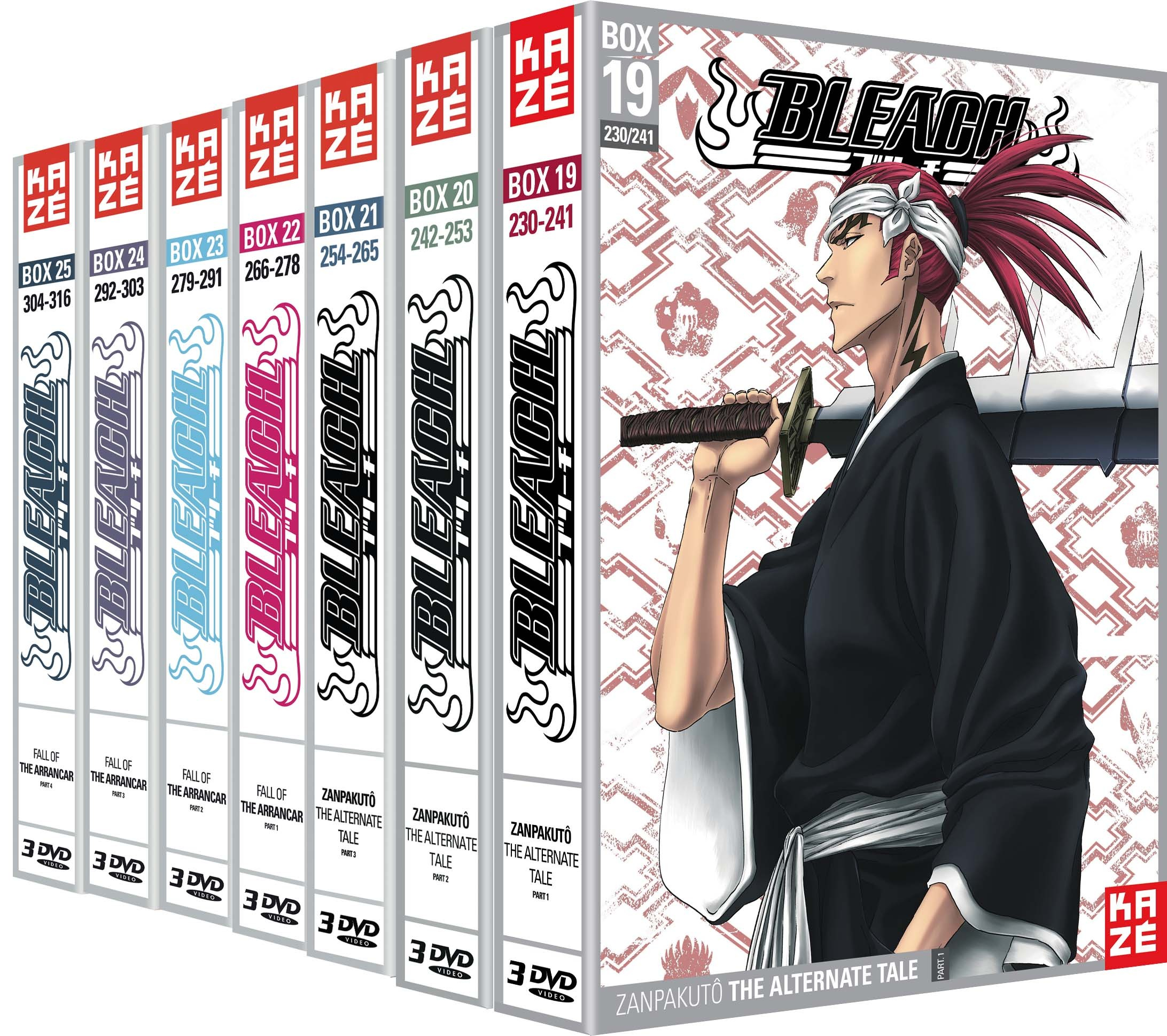 BLEACH - SAISON 5 - 21 DVD