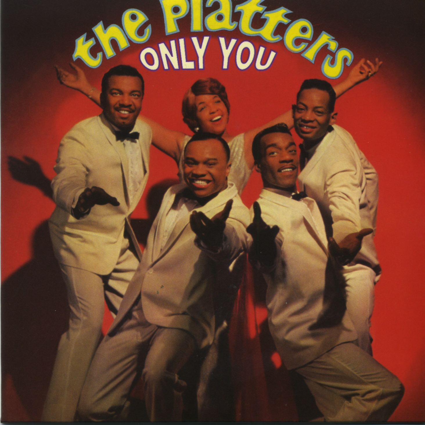 PLATTERS - CD ONLY YOU