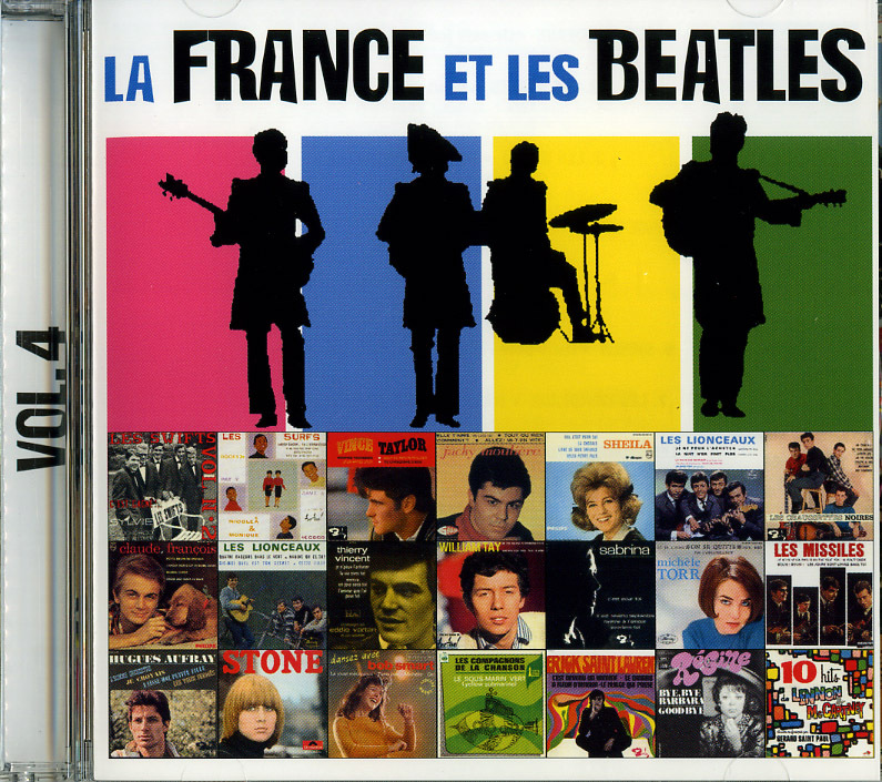 LA FRANCE&LES BEATLES VOL4 -CD