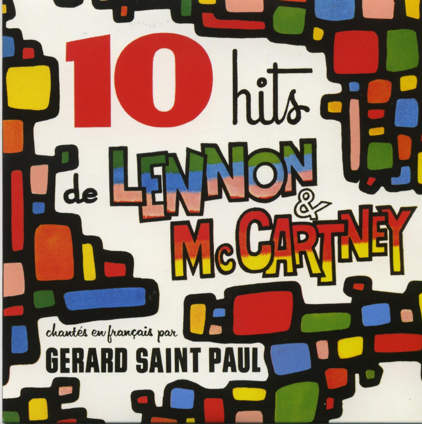 BEATLES - 10 HITS LENNON/MC CARTNEY - CD