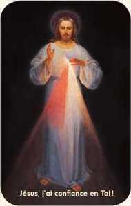 PAQUET DE 50 CARTES - PRIERE - CB1247 - JESUS MISERICORDIEUX