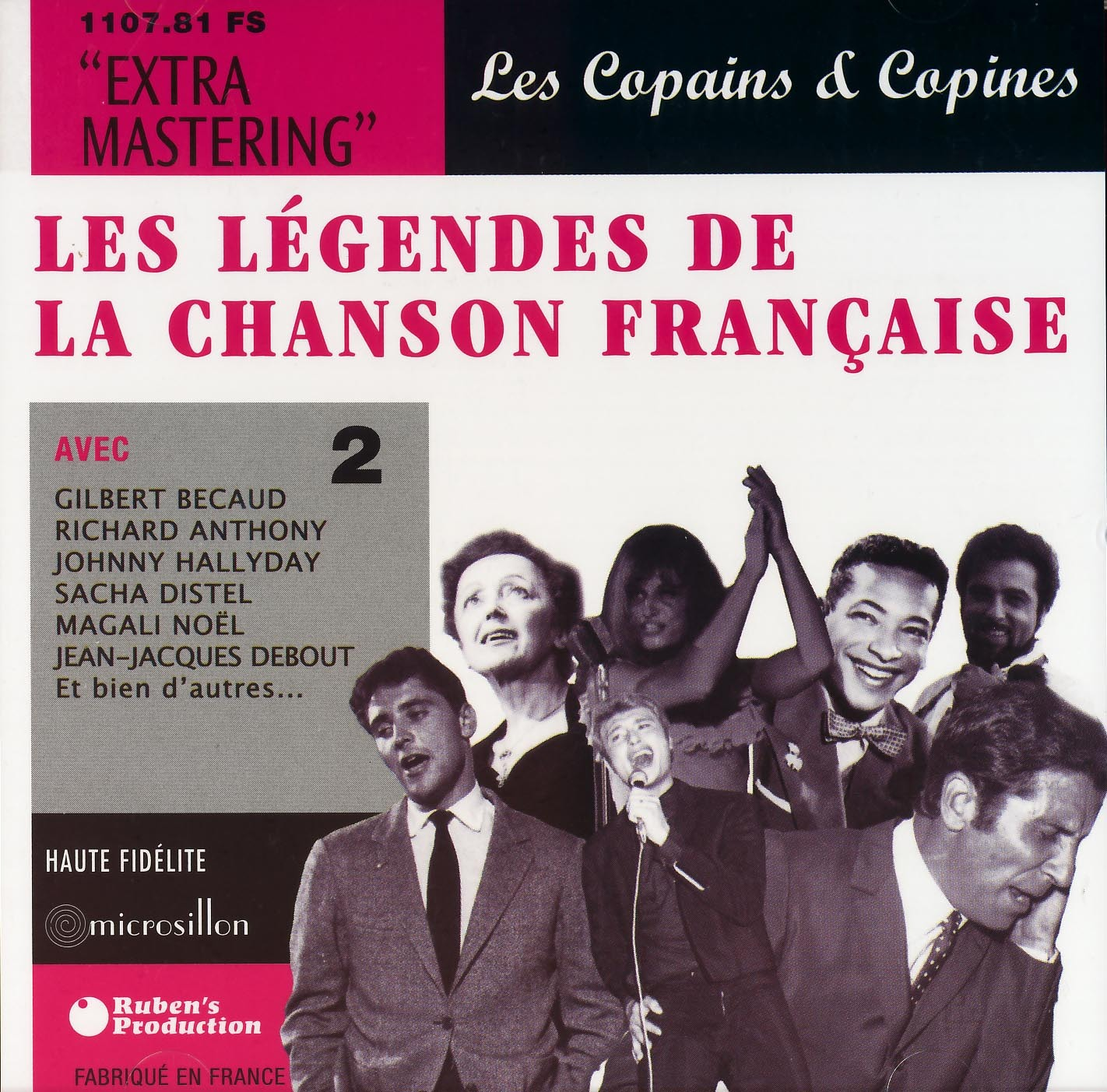 LEGENDES CHANSON FRANC. V2-CD