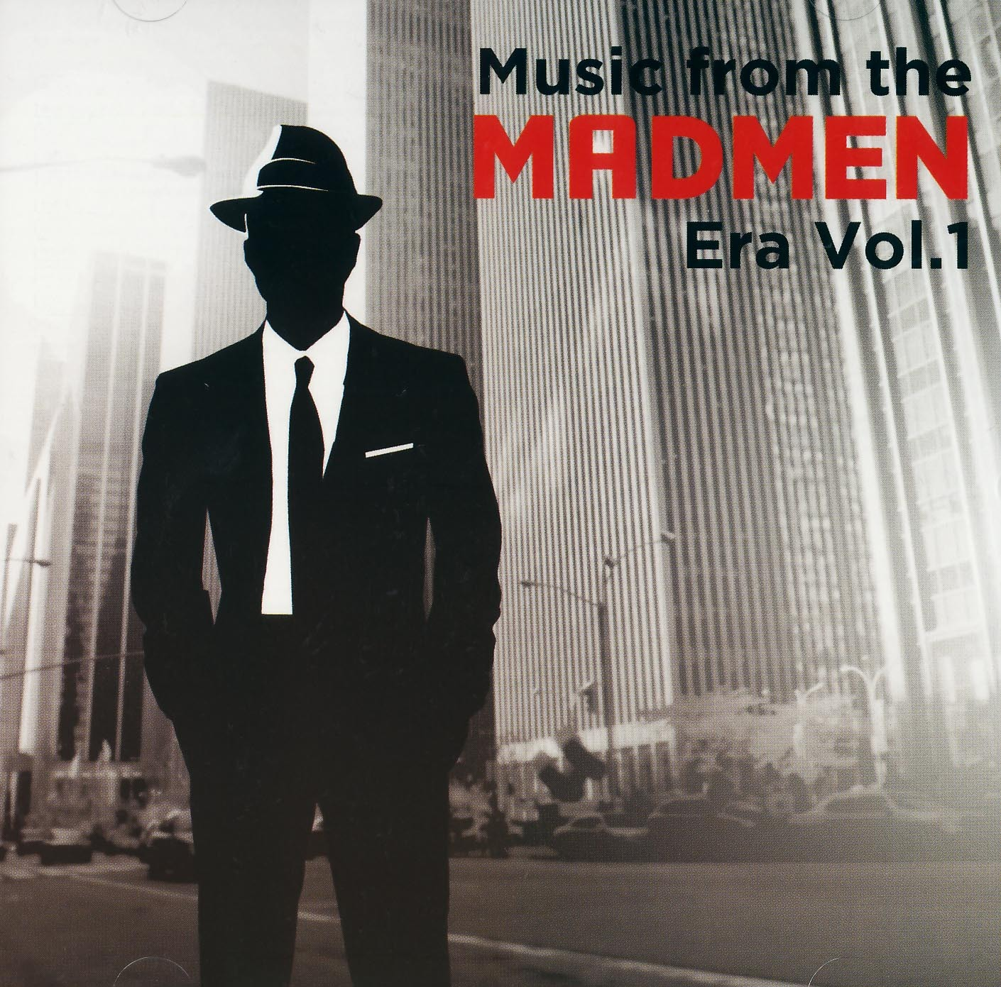MAD MEN VOL 1 - 2 CD  MUSIC FROME THE MAD MEN ERA