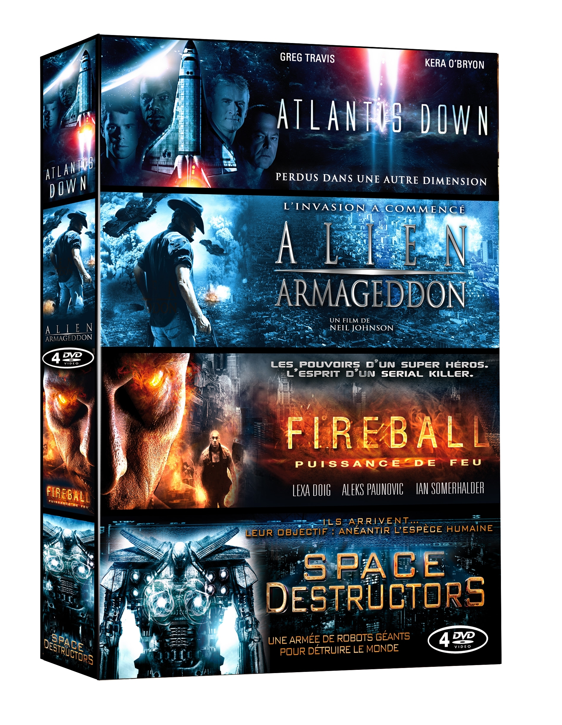 SCIENCE FICTION - 4 DVD