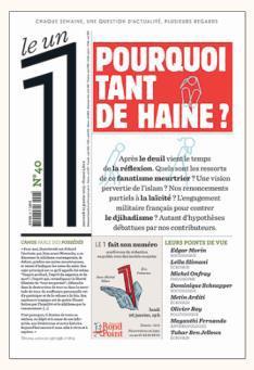 LE 1 - N 40 - POURQUOI TANT DE HAINE ?