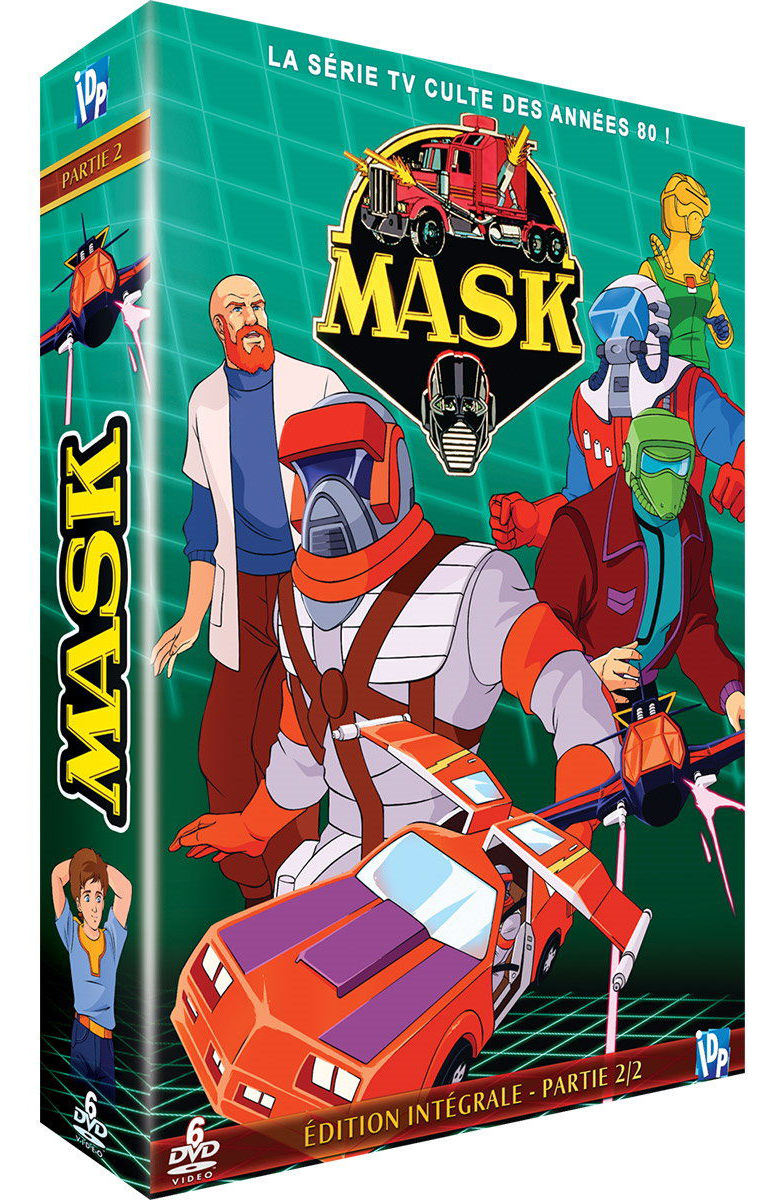 MASK - PARTIE 2 - COFFRET DVD - COLLECTOR