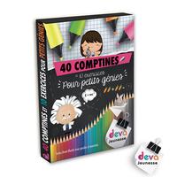 40 COMPTINES ET 10 EXERCIES POUR PETITS GENIES