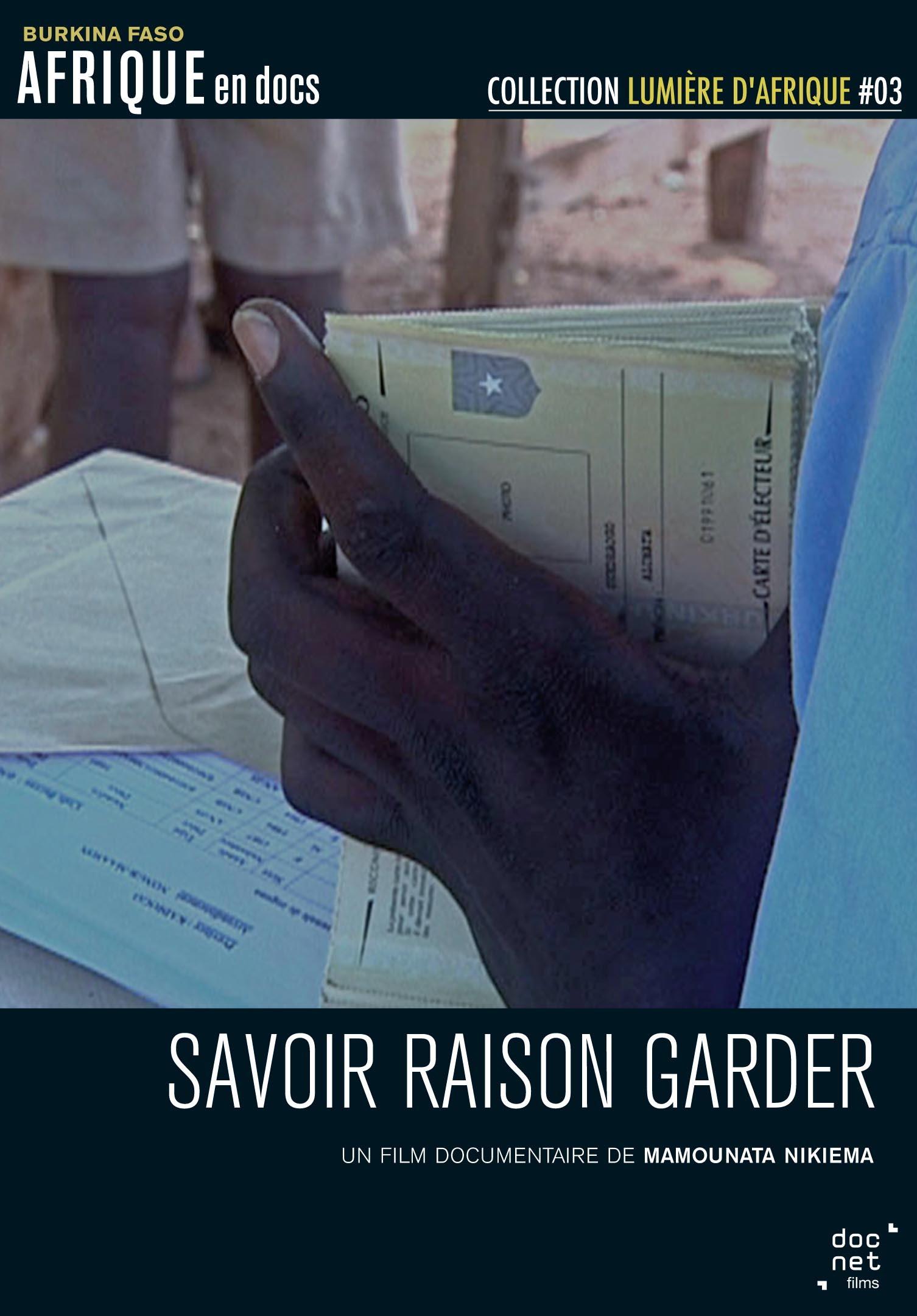 SAVOIR RAISON GARDER - DVD
