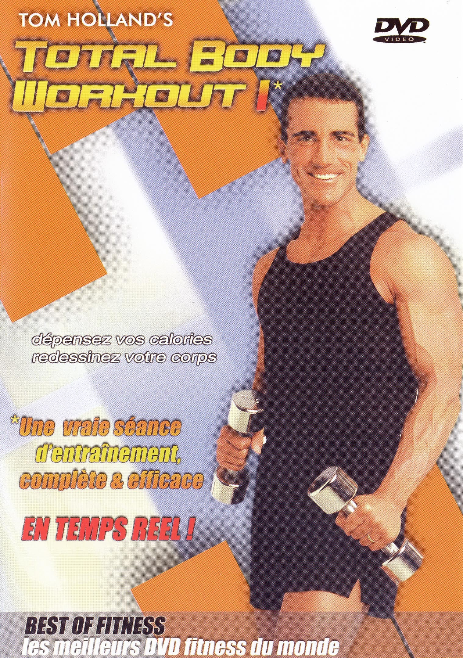 TOTAL BODY WORKOUT I - DVD  TOM HOLLAND'S