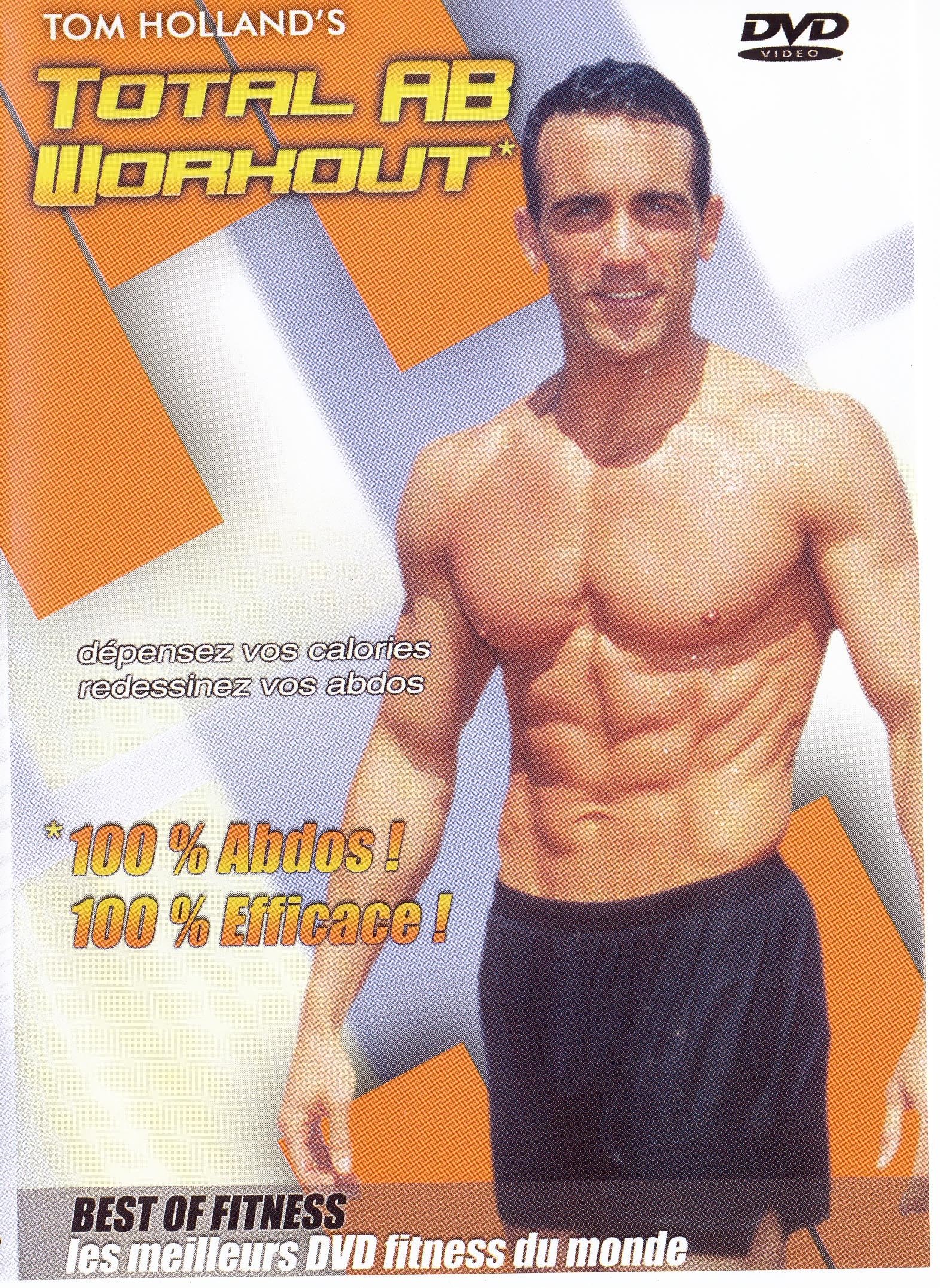 TOTAL AB WORKOUT - DVD  TOM HOLLAND