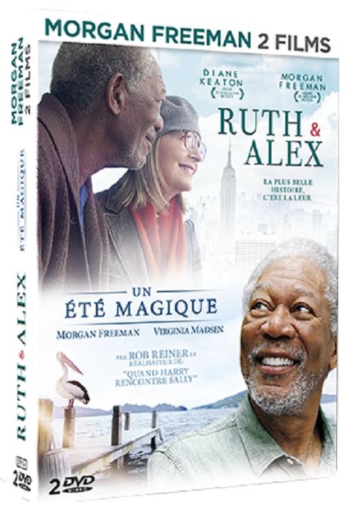 MORGAND FREEMAN COFFRET 2 FILMS - RUTH ET ALEX + UN ETE MAGIQUE