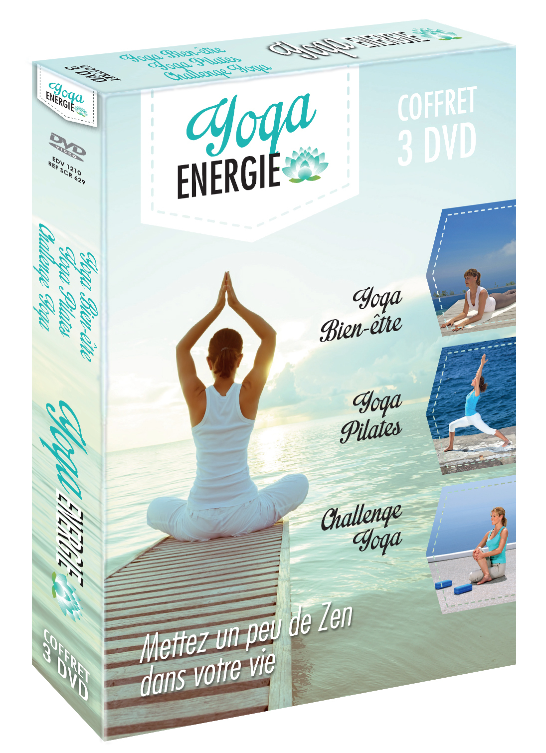 YOGA ENERGIE - 3 DVD