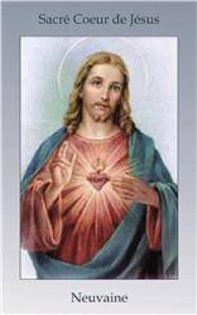LIVRET DE NEUVAINE AU SACRE COEUR DE JESUS