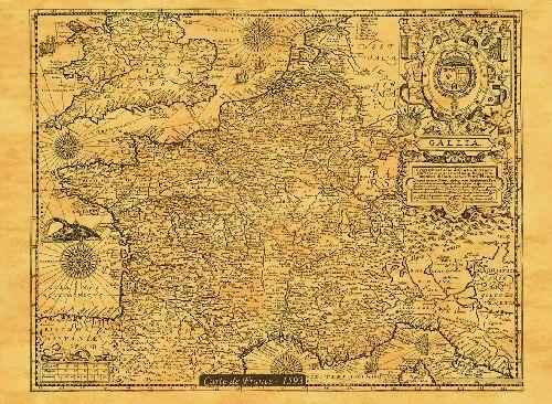FRANCE EN 1593 50 CM X 38 CM