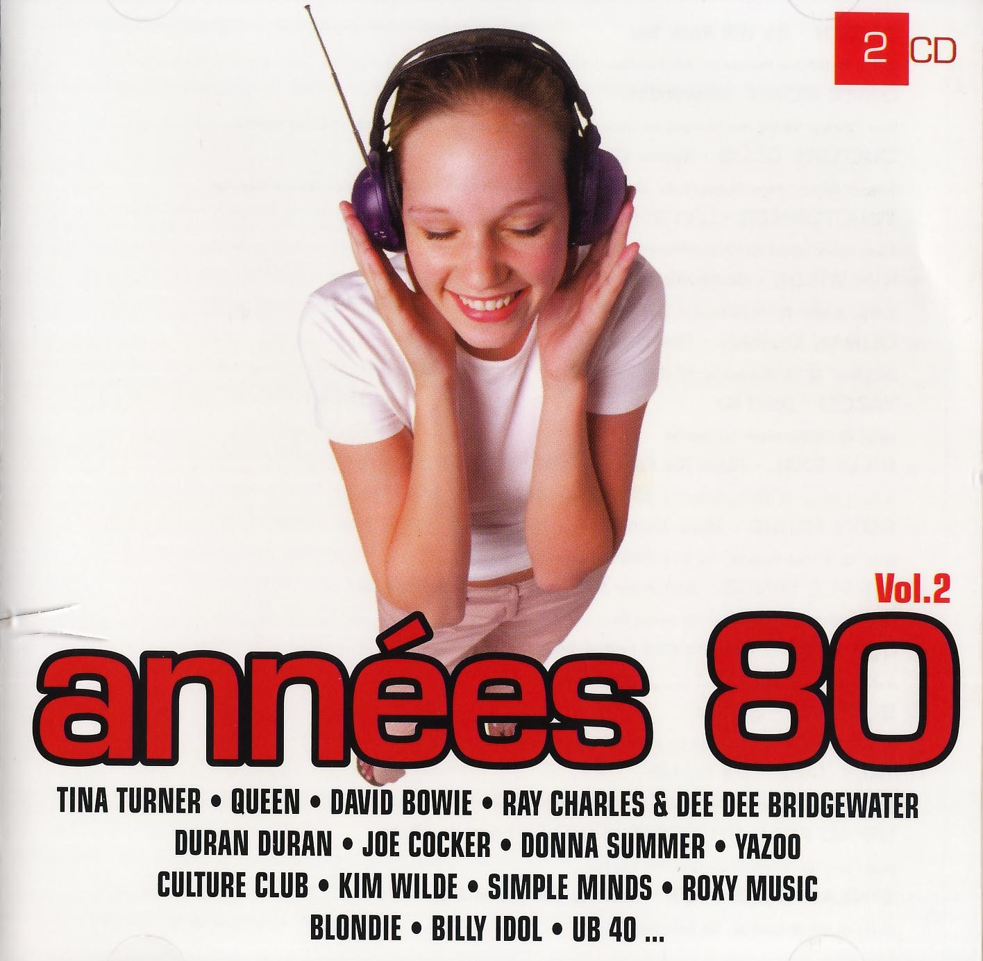 ANNEES 80 VOL2 - 2 CD-COLLECTION TWOGETHER