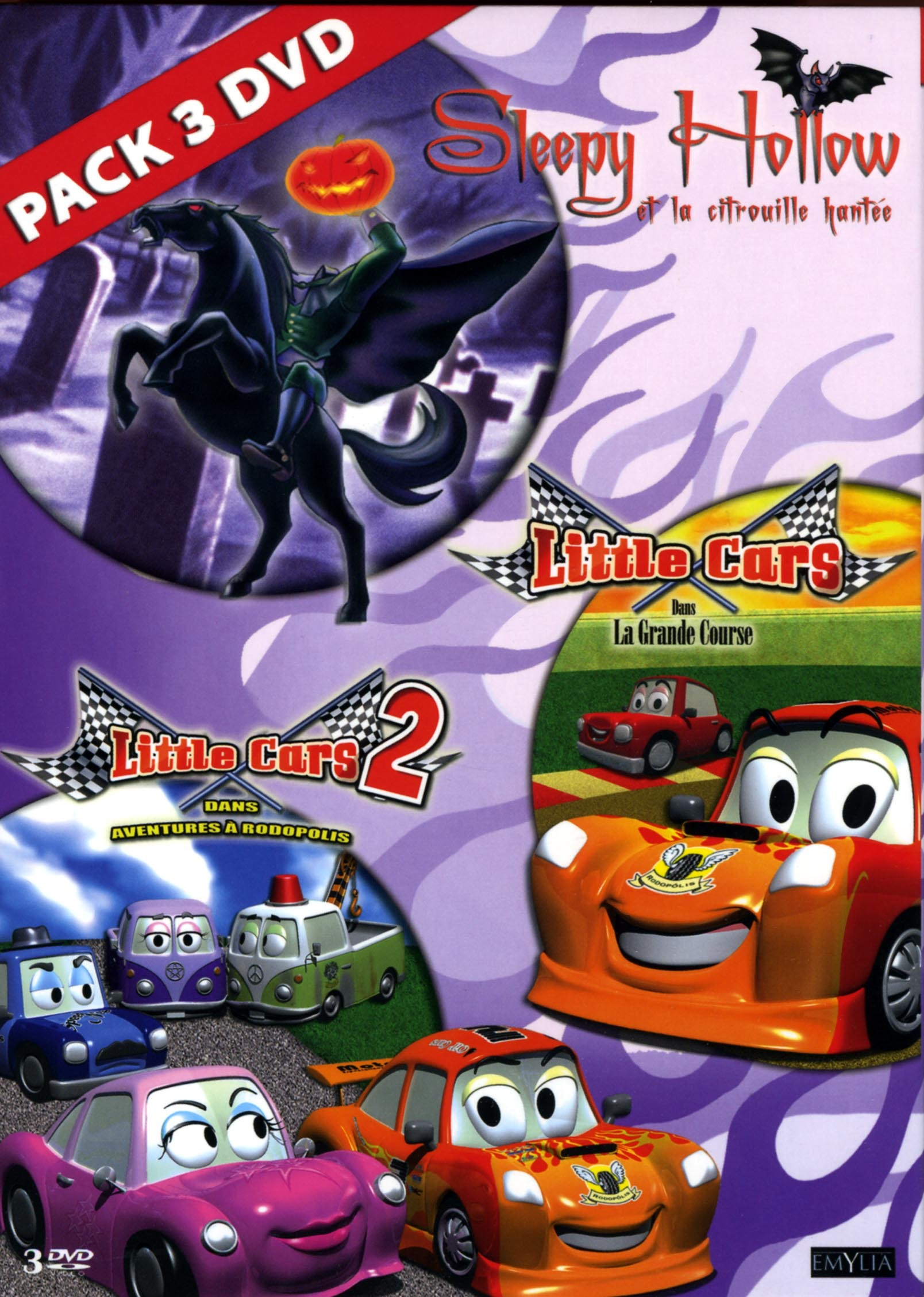 SLEEPY HOLLOW&LITTLE CAR -3DVD