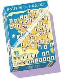 PUZZLE SAINTS DE FRANCE 260 PIECES + 1 AFFICHE 40X60 CM