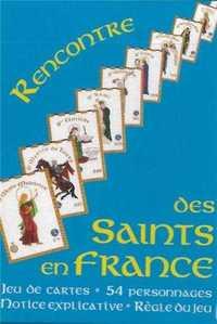 JEU DE CARTES RENCONTRE DES SAINTS EN FRANCE