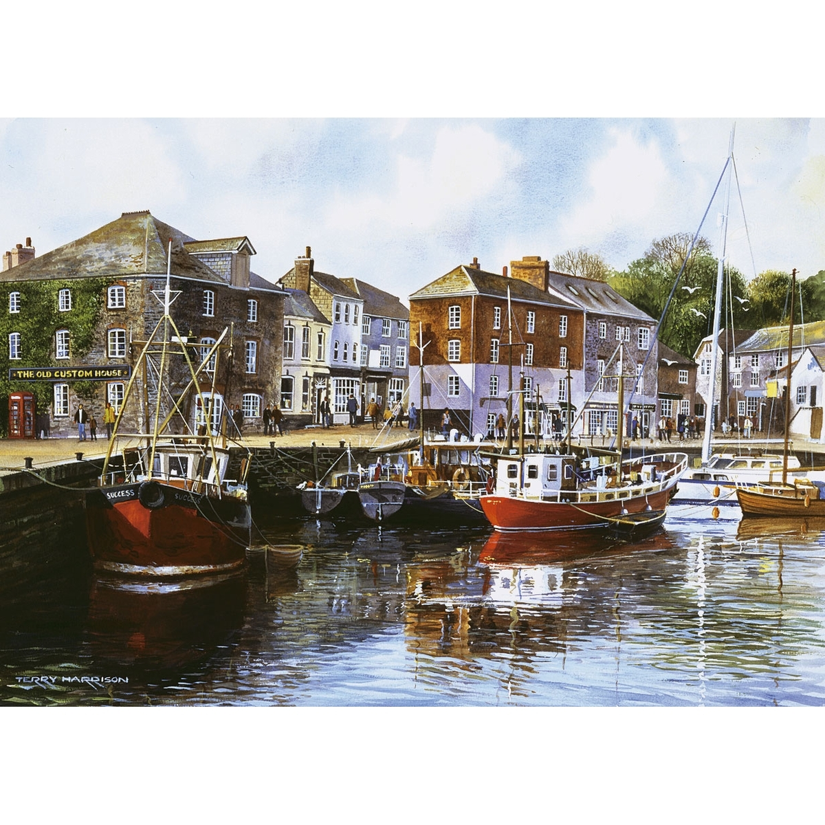 PADSTOW HARBOUR - 1000 PIECES