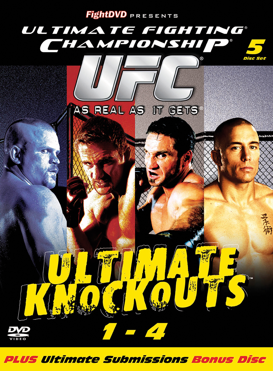 UFC - ULTIMATE KNOCKOUTS - ULTIMATE SUBMISSIONS COFFRET