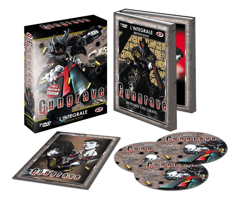 GUNGRAVE - INTEGRALE - EDITION GOLD - COFFRET DVD + LIVRET