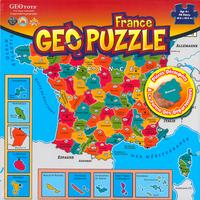 GEOPUZZLE FRANCE DEPARTEMENTALE - 94 PIECES (FR) 438X438