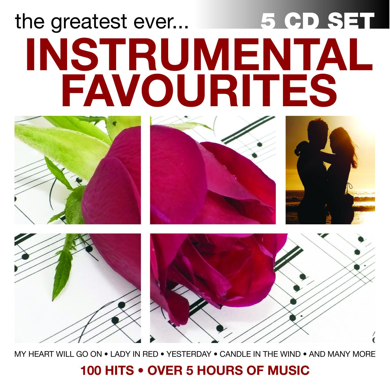 100 HITS - INSTRUMENTAL FAVOURITES - 5 CD