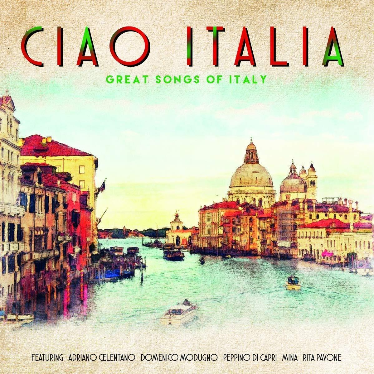 CIAO ITALIA (VINYLE)