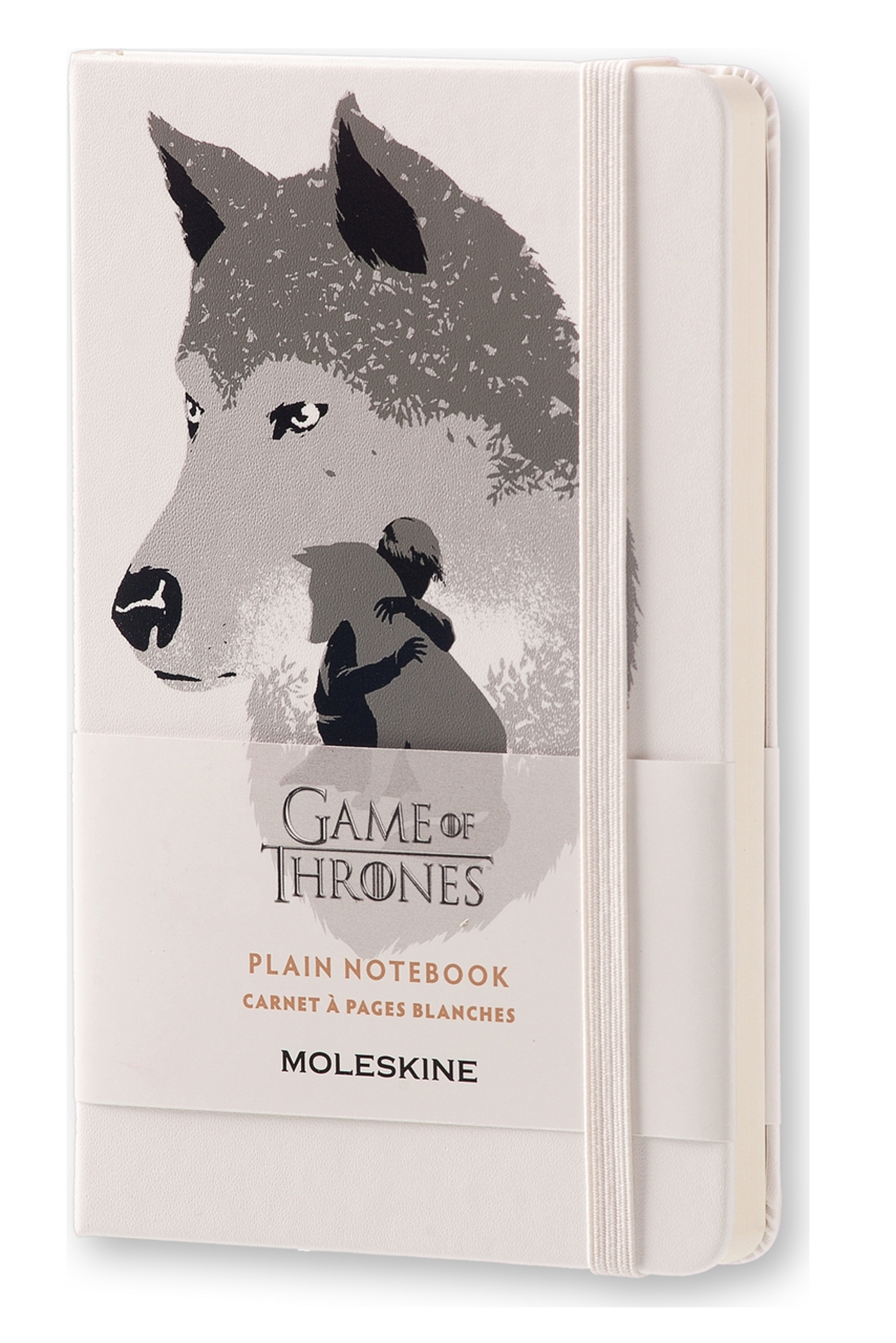 CARNET EDT LIMITEE GAME OF THRONES - FORMAT DE POCHE - PAGES BLANCHES