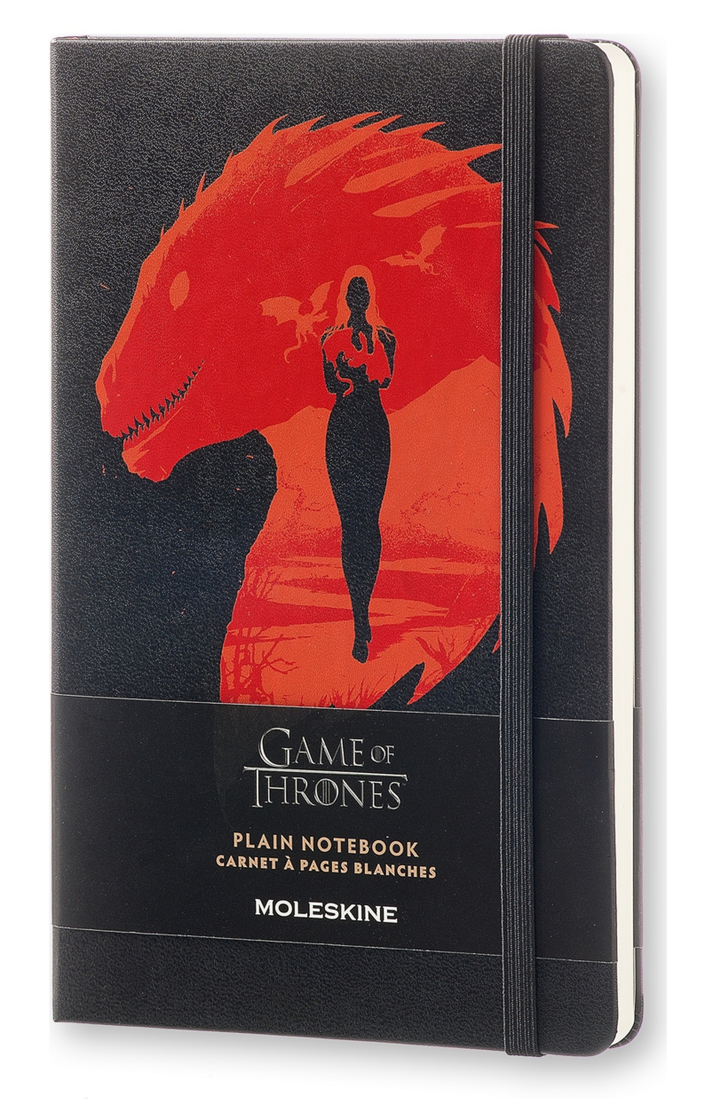 CARNET EDT LIMITEE GAME OF THRONES - GRAND FORMAT - PAGES BLANCHES