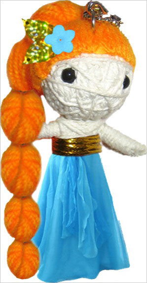VOODOO DOLLS ONCE UPON A TIME - RAIPONCE
