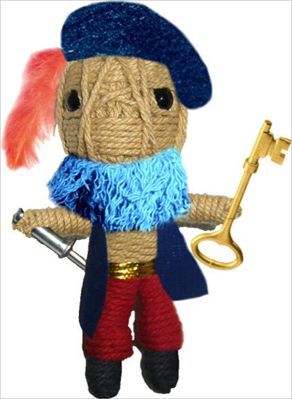 VOODOO DOLLS ONCE UPON A TIME - BARBE BLEUE